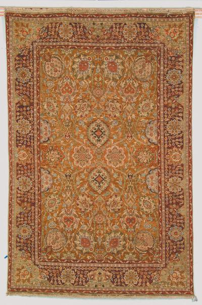 Safavieh Old World OW118B Gold area rug