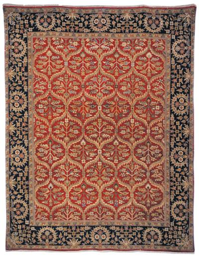 Safavieh Old World OW119A Red and Navy area rug