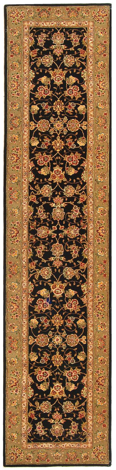 Safavieh Persian Court PC110A Black and Light Green