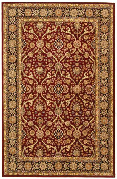 Safavieh Persian Court PC121B Red and Black