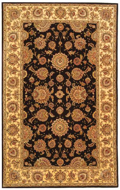 Safavieh Persian Court PC123B Plum and Ivory