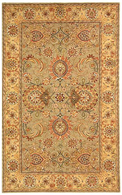 Safavieh Persian Court PC413B Sage and Beige