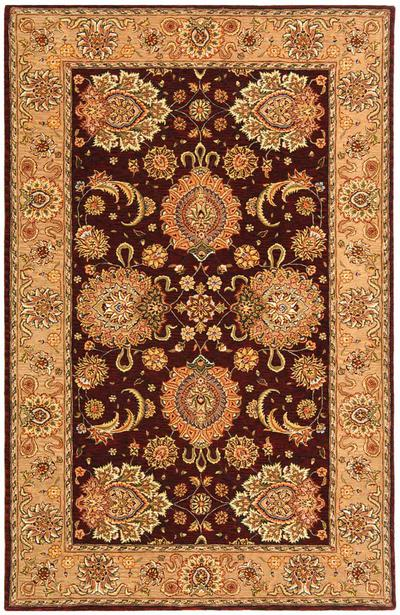 Safavieh Persian Court PC413C Burgundy and Beige area rug