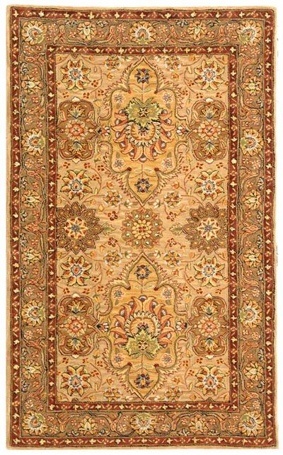 Safavieh Persian Court PC460A Ivory and Taupe area rug