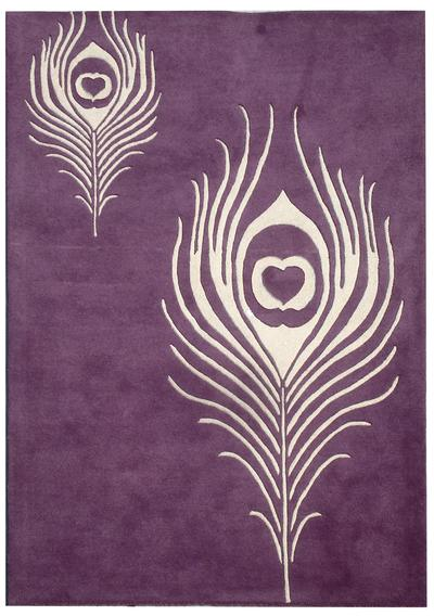 Safavieh Soho SOH704A Purple and Ivory