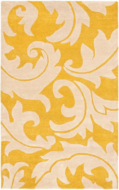 Safavieh Soho SOH841A Gold and Ivory area rug