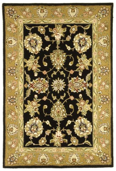 Safavieh Traditions TD606B Black and Gold