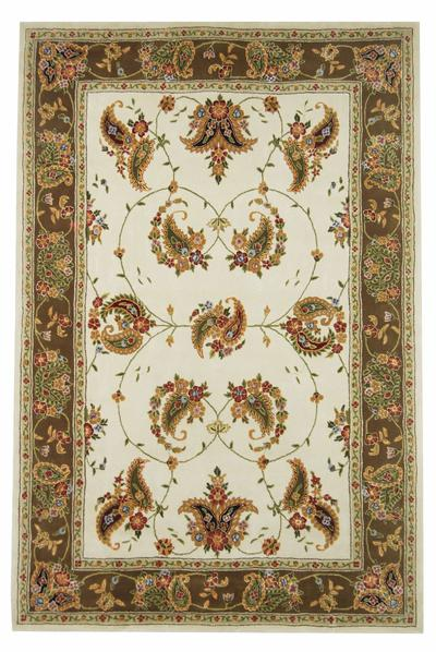 Safavieh Traditions TD607B Ivory and Sage area rug