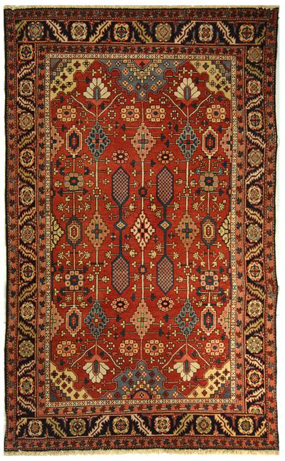 Safavieh Turkistan TRK102A Red and Navy area rug
