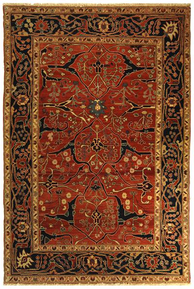 Safavieh Turkistan TRK103A Red and Navy area rug