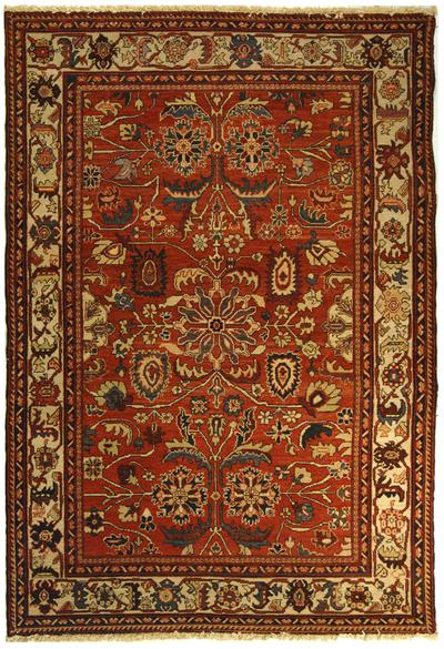 Safavieh Turkistan TRK105A Red and Ivory