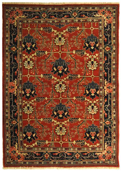 Safavieh Turkistan TRK117A Red and Blue area rug