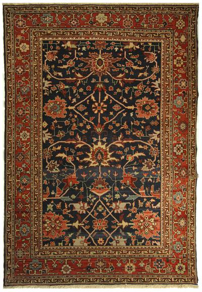 Safavieh Turkistan TRK118A Teal and Red area rug