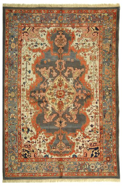 Safavieh Turkistan TRK121A Ivory and Grey area rug