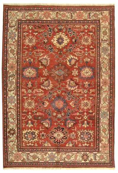 Safavieh Turkistan TRK126A Red and Ivory
