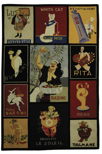 Safavieh Vintage Posters VP253A Assorted