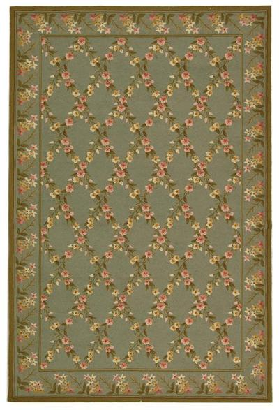 Safavieh Wilton WIL321C Teal and Olive