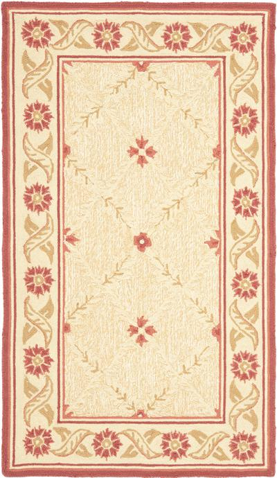 Safavieh Wilton WIL324D Beige and Red