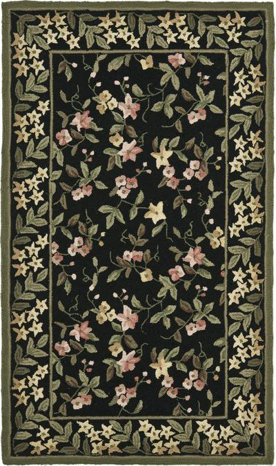 Safavieh Wilton WIL331B Black and Green