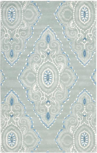 Safavieh Wyndham WYD372A Blue and Ivory