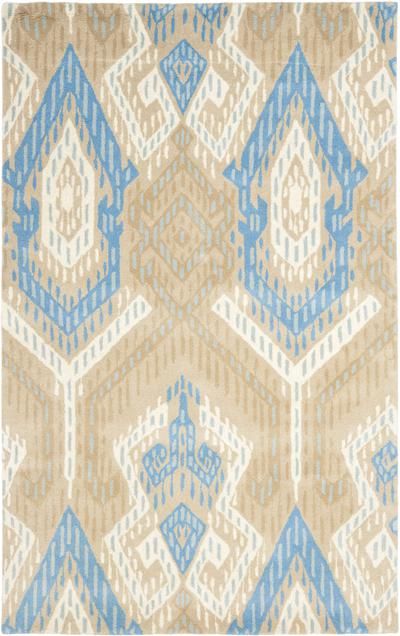 Safavieh Wyndham WYD373C Blue and Ivory area rug