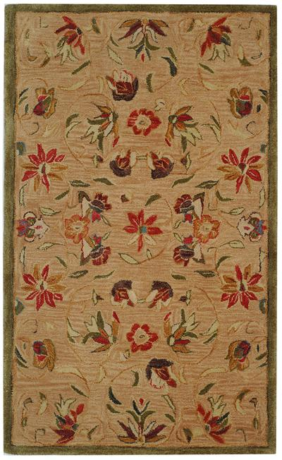 Safavieh Anatolia AN525A Beige and Green area rug