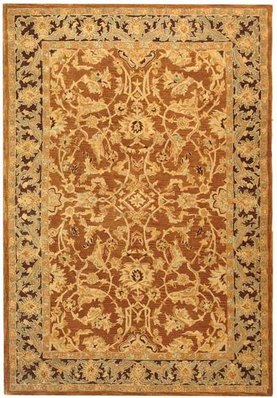 Safavieh Anatolia AN545A Rust and Brown