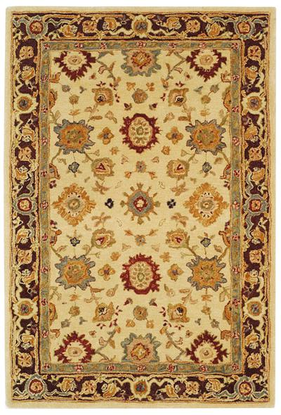 Safavieh Anatolia AN546A Ivory and Brown