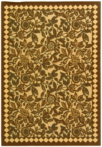 Safavieh Courtyard CY4025D Natural Brown and Black