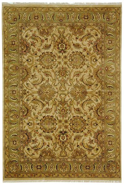 Safavieh Dynasty DY207B Beige and Green area rug