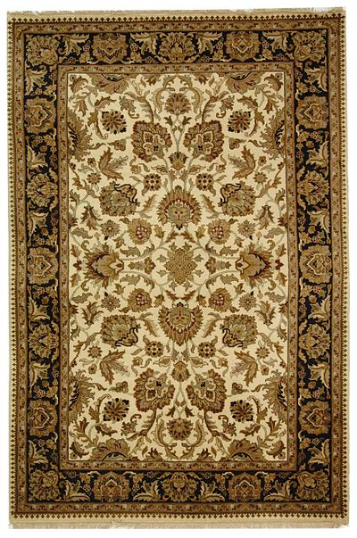 Safavieh Dynasty DY219A Beige and Black