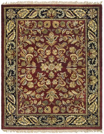 Safavieh Heritage HG170B Red and Black area rug