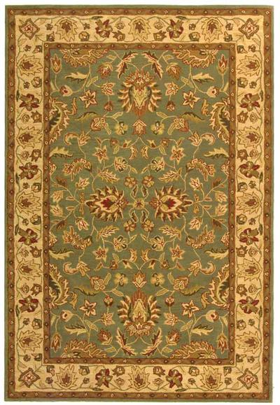 Safavieh Heritage HG211A Grey Blue and Beige