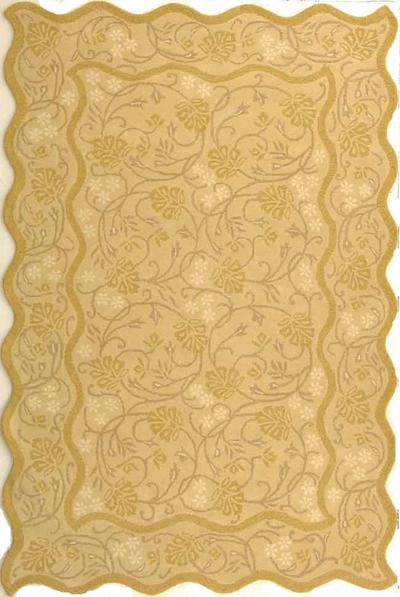 Safavieh Heritage HG213A Light Gold and Light Gold area rug