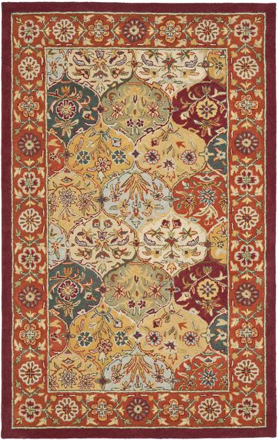 Safavieh Heritage HG510B Multi and Red