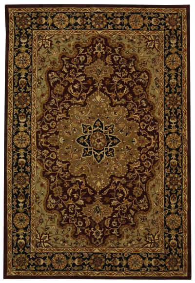 Safavieh Heritage HG760B Red and Black area rug