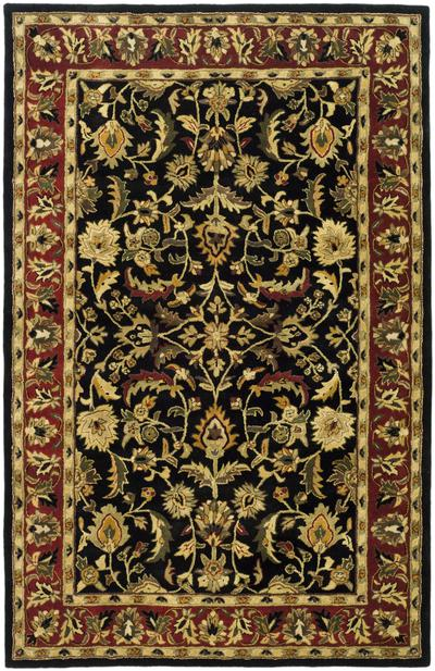 Safavieh Heritage HG953A Black and Red area rug
