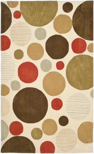 Safavieh Modern Art MDA615A Ivory and Multi area rug
