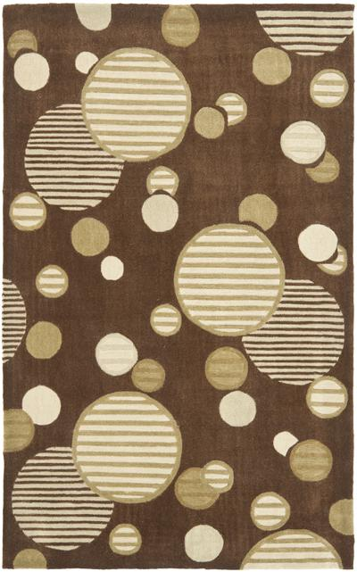 Safavieh Modern Art MDA619B Brown and Multi