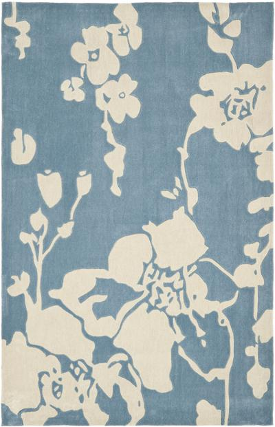 Safavieh Modern Art MDA621A Blue and Ivory area rug