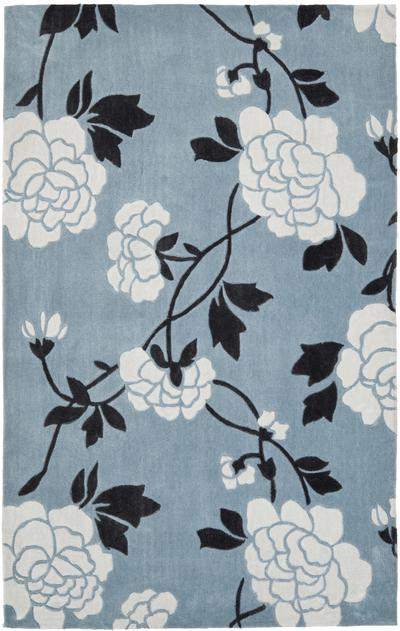 Safavieh Modern Art MDA622A Blue and Ivory