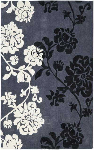 Safavieh Modern Art MDA623A Dark Grey and Multi