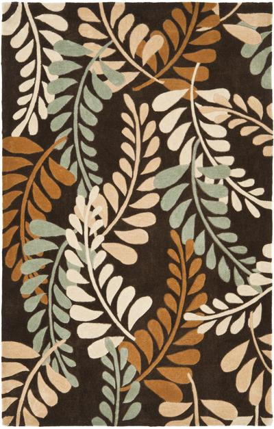 Safavieh Modern Art MDA625A Brown and Multi