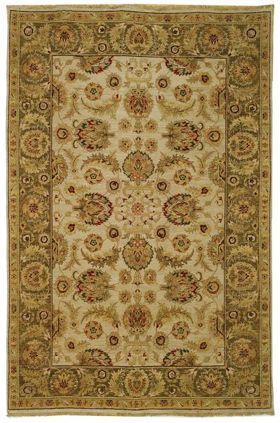 Safavieh Old World OW129A Ivory and Green area rug