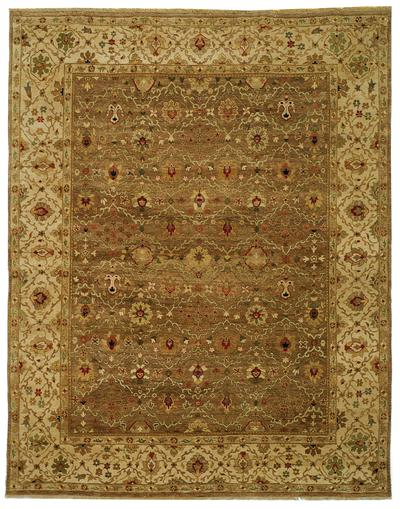 Safavieh Old World OW130A Green and Ivory area rug