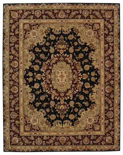 Safavieh Persian Court PC119A Black and Red area rug