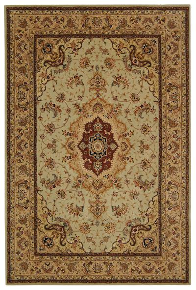 Safavieh Persian Court PC129B Light Green and Beige area rug