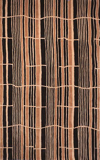 Safavieh Rodeo Drive RD602B Bamboo and Black area rug