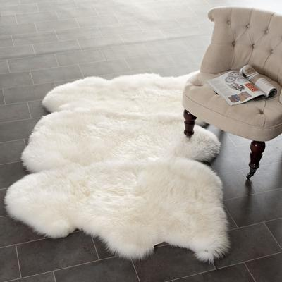Safavieh Sheepskin Shag SHS121A White