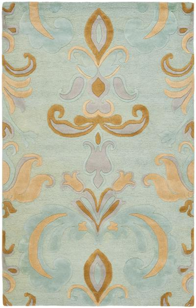 Safavieh Soho SOH215A Light Blue and Multi area rug